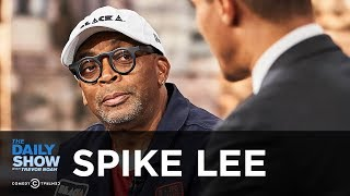 """Spike Lee - """"BlacKkKlansman"""" and Fighting the Rise of Racism in the Trump Era   The Daily Show"""