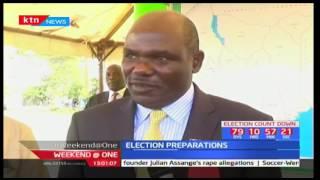 Wafula Chebukati insists reshuffling of returning officers will go on