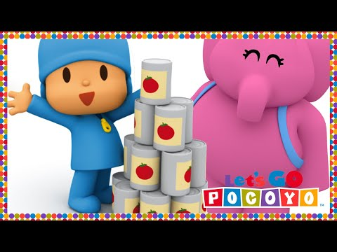 Let s Go Pocoyo Pocoyo s Supermarket Episode 36 in HD