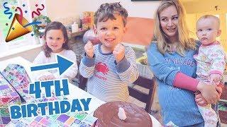 4th Birthday Morning Opening Presents!
