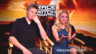 Interviews Race to Witch Mountain - AnnaSophia Robb and Alexander Ludwig 1st