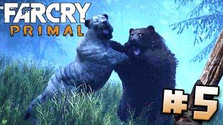 Bear Battles Lion!! - Far Cry Primal | Part 5 (PS4) HD