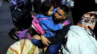 Venezuelan migrants halted on Colombia-Ecuador border