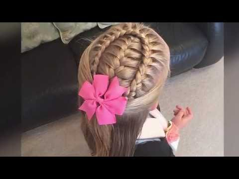 Xxx Mp4 French Braid With A Lace Braid Wrap Tutorial By Two Little Girls Hairstyles 3gp Sex