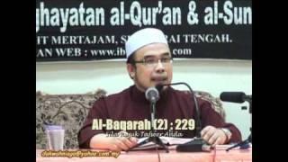 Dr Asri 2. Apabila Isteri Sudah di Talaq Tiga - Umdatul Ahkam #34