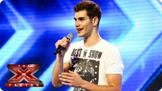 Alejandro sings Hero by Enrique Iglesias - Arena Auditions Week 1 - The X Factor 2013