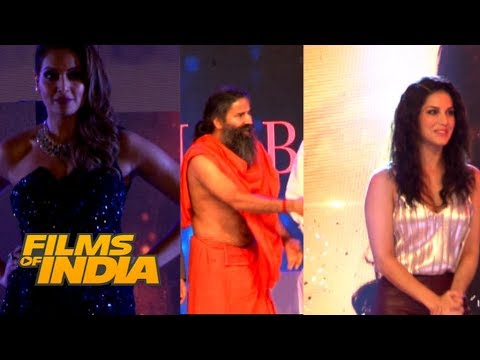 Xxx Mp4 Baba Ramdev HOT Sunny Leone SEXY Bipasha Basu Spotted At Globoil India Awards 2017 3gp Sex