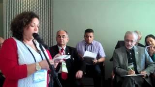 Juneia Martins Batista, Health Secretary, Central Unica dos Trabalhadores Brazil