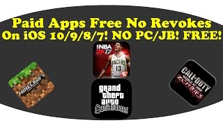 [NOT WORKING]How To Get Paid Apps Free Permanently On iOS 10/9/8/7! NO PC/JB!