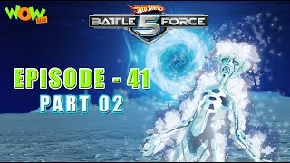 Hot Wheels Battle Force 5 - The Shadow Zone - S2 E41.P2 - in Hindi