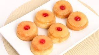 Mini Pineapple Upside Down Cakes Recipe - Laura Vitale - Laura in the Kitchen Episode 771