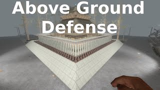 7 Days to Die Alpha 14 Above Ground Base Defense Design