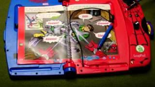 circuit bent Spider-Man LeapFrog LeapPad