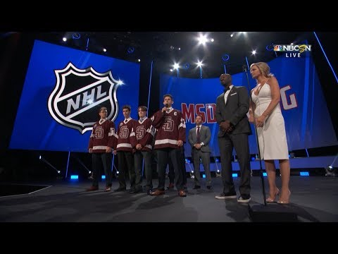 Marjory Stoneman Douglas hockey team joins NHL Awards
