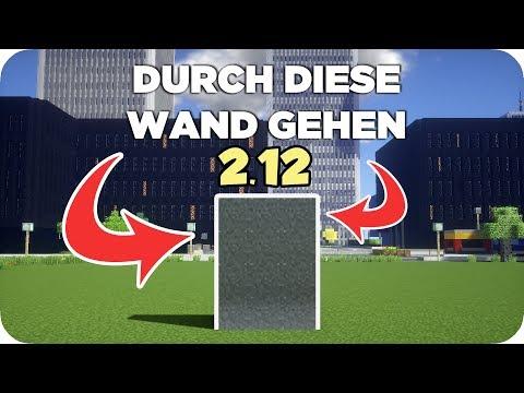 EINFACH DURCH DIESE WAND GEHEN!   Minecraft TUTORIAL