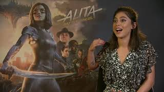 ALITA : BATTLE ANGEL Rosa Salazar - emotional interview - best Cyborg - Martial Arts Training