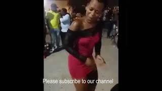 Zodwa Wabantu dancing naked