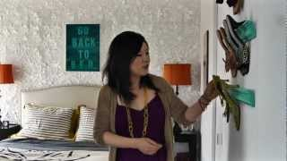 How to design a small rental apartment - Tiny Amazing Eclectic Space video
