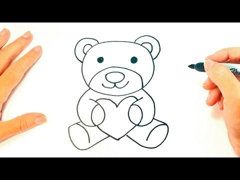 How to draw a Teddy Bear | Teddy Bear Easy Draw Tutorial