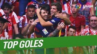 Los 100 mejores goles de LaLiga 2015/2016 (1/10)