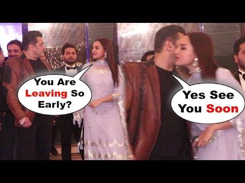 Xxx Mp4 Salman Khan And Sonakshi Sinha SWEET MOMENT At A Common Friend Wedding 3gp Sex