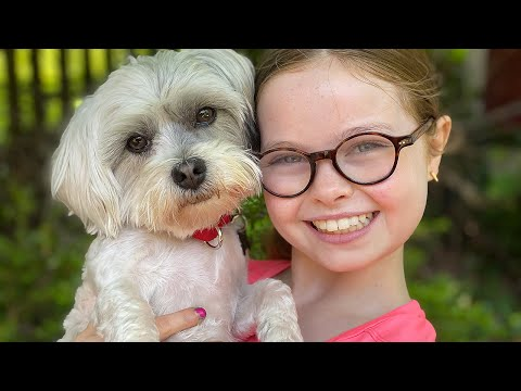 10 Year Old Has Only 10 Minutes to NAME HER PUPPY or her brother will