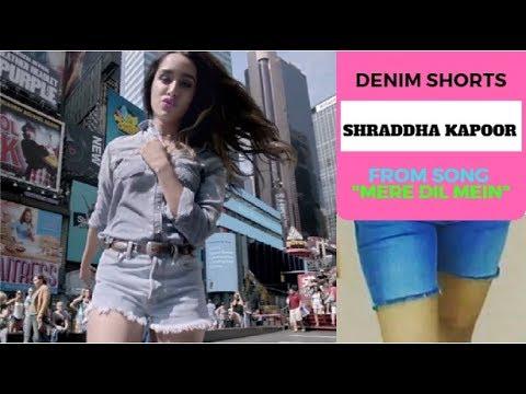Xxx Mp4 Half Girlfriend Looks Sharddha Kapoor DENIM Shorts DIY Song Mere Dil Mein Look 3gp Sex