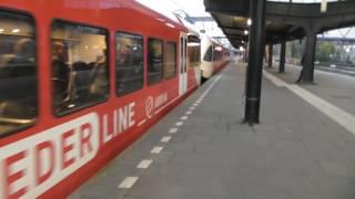 Wieder mit der Bahn von Weener nach Groningen nach dem Unfall mit der Friesenbrücke