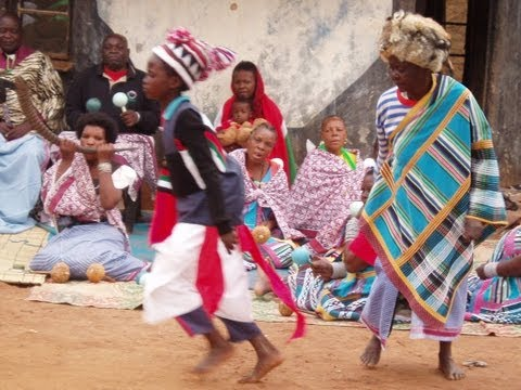 Rain fertility ceremony drums and dance of Venda people (South Africa/Zimbabwe)