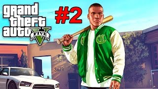 GTA 5 WALKTHROUGH PART 2!! (GTA 5 Story Mode)
