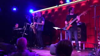Yellowjackets with new bass player Dane Alderson at the Northsea Jazz Club in Amsterdam
