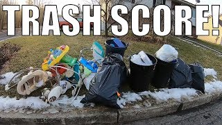 Trash Picking for FREE Treasures Left for the Landfill - Ep 110