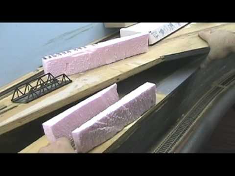 Model Railroad VLog Making Tunnels Part 1