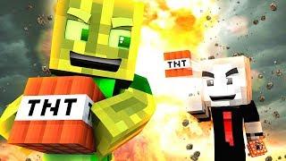 TNT RENNEN des TODES?! - Minecraft BABY TROLLING