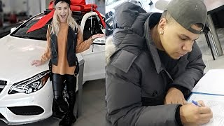 SURPRISING GIRLFRIEND WITH A NEW CAR!!
