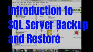 Introduction to SQL Server Database Backup and Restore