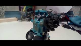 Transformers squeeks stop motion trailer