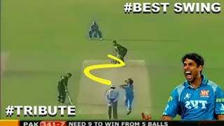 ASHISH NEHRA Top Insane Swing Balling in CRICKET HISTORY - TRIBUTE TO THE LEGEND