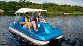 Paddle Boat on beautiful lake