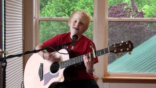 Cody Simpson - On My Mind by 9 yr. old Carson Lueders acoustic cover