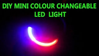 DIY fidget spinner with colour changeable led,10 hours continuous spinning, without bearing