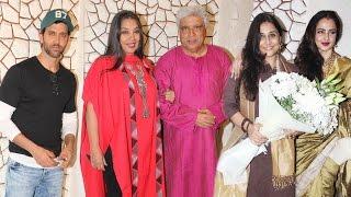 Javed Akhtar's Birthday Bash 2016 | Hrithik Roshan, Rekha, Anil Kapoor