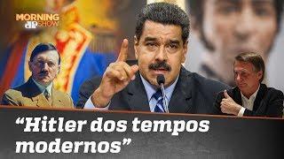 """Maduro chama Bolsonaro de """"Hitler dos tempos modernos"""""""