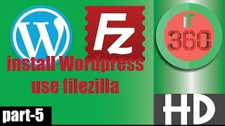 How to Upload Wordpress website use Filezilla on FTP Server and Install [Bangla] || Full Video