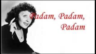 Édith Piaf - Padam - Subtitulado al Español