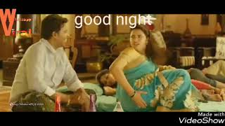 Funny good night video on YouTube viral whatsapp video south indian movie clip