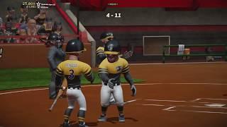 Super Mega Baseball 2 Gameplay - Reapers v Clankers - Sakura Hills Exhibition SMB2 Xbox One