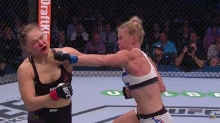 RONDA ROUSEY VS. HOLLY HOLM WICKED KO 2nd RD | AND NEW....UPSET OF THE YEAR! (UFC 193 REVIEW)