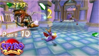 Let's Play Spyro: Enter the Dragonfly - Part 10: Cloud Nine
