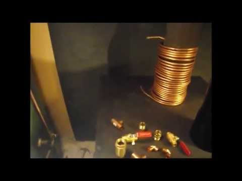 Xxx Mp4 Copper Coil To Free Hot Water From The Wood Stove 3gp Sex